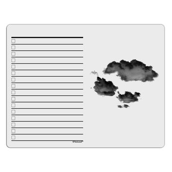 Inverted Puffy Clouds To Do Shopping List Dry Erase Board