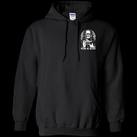 Frank and His Camera Pocket Logo Pullover Hoodie