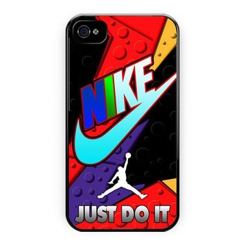 Nike Just Do It Jordan Raptor iPhone 4/4S Case