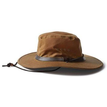 CREYYN3 Filson Tin Cloth Bush Hat