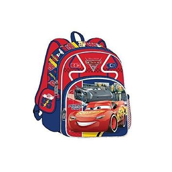 Disney Cars 3 Road Signs 3D 12-inch Backpack