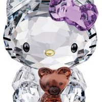 Swarovski Crystal Figurine HELLO KITTY BEAR #1096879