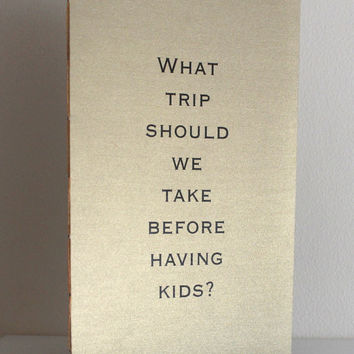 Metallic Wedding Table  Books - Large Conversation Starters - Pearlescent Question Books