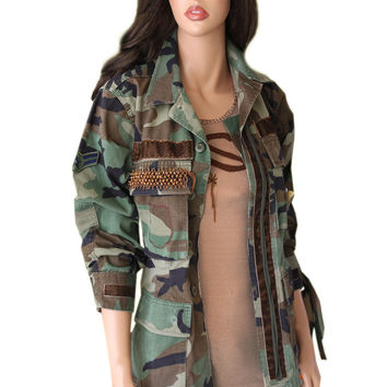 Jacket butterfly camo safari girl wounded warrior by tratgirl55