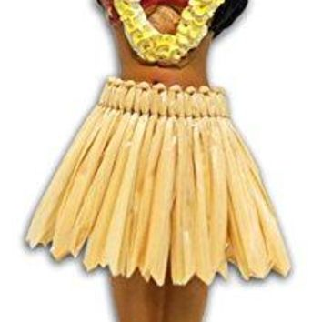 Hula Girl Posing Mini Dashboard Doll