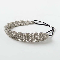 Anthropologie - Metallic Tobiko Headband