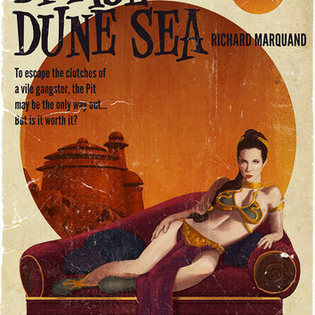 "Art Print- Star Wars Pulp, part 6- Damsel of the Dune Sea (11""x17"")"