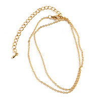 Gold Chain for Personalized Charms