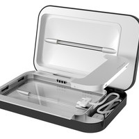 Phonesoap Phone UV Sanitizer & Universal Charger - Black