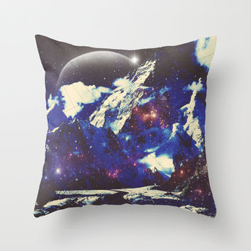 Comet Throw Pillow by DuckyB (Brandi)