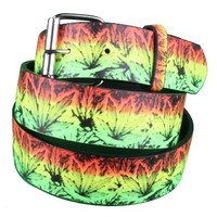 Elite Rasta Kush Belt Guys Belts