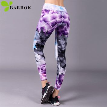 BARBOK Sports Leggings Yoga Pants Leggins Women Fitness Sportswear Gym Leggings Lady Seamless Running Exercise Workout Clothing