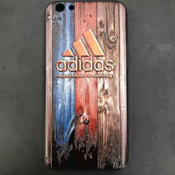 The New Wood Pattern Adidas Print Iphone 6 6s Plus/ 7 7 Plus/8 8 Plus Cover Case