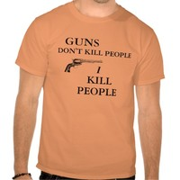 Happy Gilmore Guns Don't Kill People T-Shirt