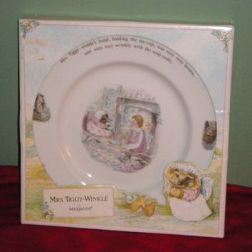 Mrs. Tiggy Winkle by Wedgwood New Still in Oriniginal Box