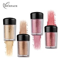 NICEFACE Pro Sparking Eyeshadow Loose Powder Diamond Glitter Shimmer High Pigment Eyeshadow Powder Makeup Beauty Eyes Shadow