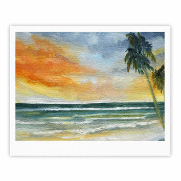 "Rosie Brown ""End of Day"" Beach Fine Art Gallery Print"