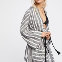 Free People Together Forever Kimono