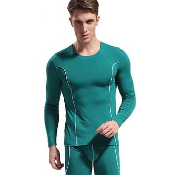 high quality V-neck thermo series Hot Winter Mens Warm Thermal Underwear Mens Long Johns Sexy Thermal Sets Long Johns For Man