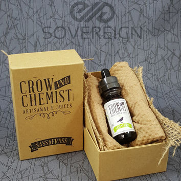 Crow and Chemist Sassafrass CBD E-juice