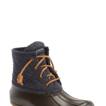 Women's Sperry 'Saltwater' Waterproof Rain Boot ,