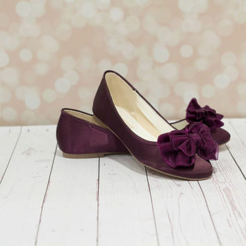 Eggplant Wedding Shoes