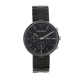 Vince Camuto VC/1098BKTBO Black Modern Link Watch