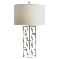 Hollywood Table Lamp, Silver Leaf, Table Lamps