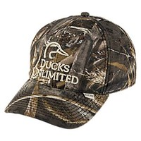 NEW Ducks Unlimited Camo Logo Cap