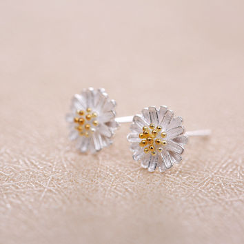 925 Silver Korean Stylish Earrings [8026210887]