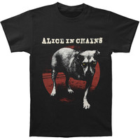 Alice In Chains Men's  Self Titled #2 T-shirt Black