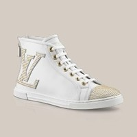 Punchy sneaker boot in calf - Louis Vuitton  - LOUISVUITTON.COM