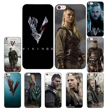 Laumans vikings serie 4 phone Cases for iphone 7 7Plus Soft silicone Case For iphone X 6 6s 6Plus 6splus 8 8plus back cover
