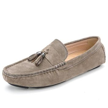 Men's Luxury Suede loafers