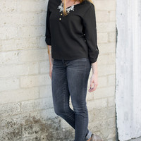 Reese Button Blouse
