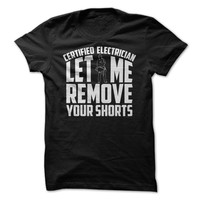 Certified Electrician Let Me Remove Your Shorts