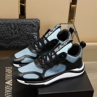 Armani  Men Casual Shoes Boots fashionable casual leather