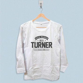Long Sleeve T-shirt - Alex Turner Arctic Monkeys