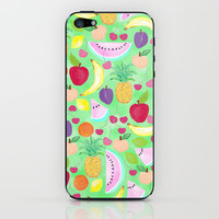 Fruit Punch iPhone & iPod Skin by Lisa Argyropoulos | Society6