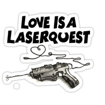 Arctic Monkeys Love is a Laserquest T-Shirts & Hoodies
