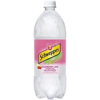 Schweppes Raspberry Lime Seltzer 20 Oz Pack of 24