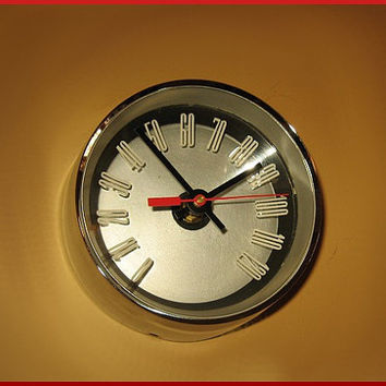 Clock Repurposed Thunderbird Speedometer - T-Bird Man Cave Wall Decor