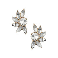 Navette Studs - Clear