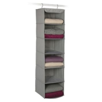 6 Shelf Closet Rod Sweater Shelves