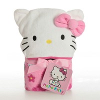 Hello Kitty Infant Hooded Towel (Pink)