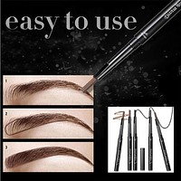 New Brand Eye Brow Tint Cosmetics Natural Long Lasting Paint Tattoo Eyebrow Waterproof 5 Colors Eyebrow Pencil Makeup #710