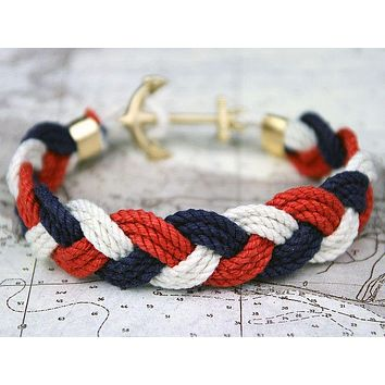 JFK Turk's Head Knot Bracelet by Kiel James Patrick