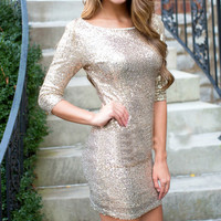 Fashion sequined bodycon dress