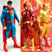 Free Shipping DC The Justice League JLA Superhero The Flash Barry Allen PVC Anime Action Figure Model Collection Toy Gift