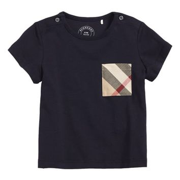 Burberry Check Pocket T-Shirt (Baby Boys & Toddler Boys) | Nordstrom